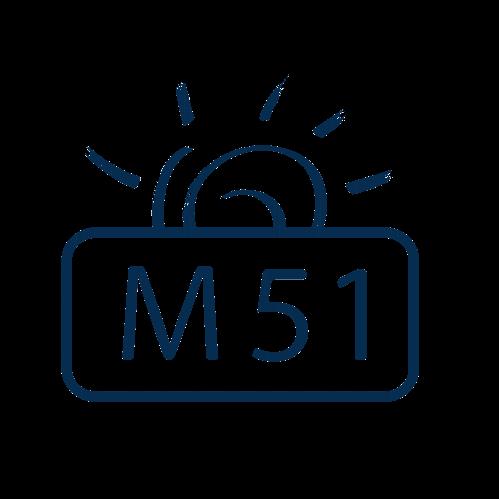 Logo da M51